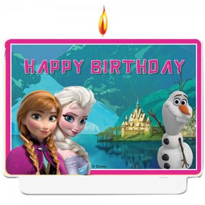 Vela Frozen Happy Birthday