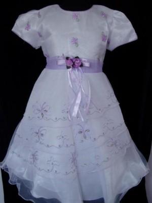 Vestido de Cerimónia para Menina Beautiful