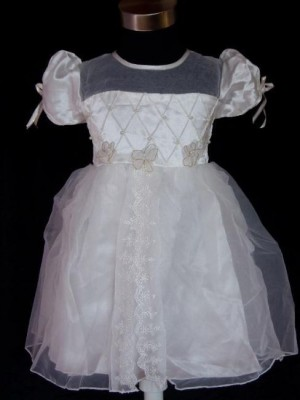 Vestido de Cerimónia para Menina Ivory