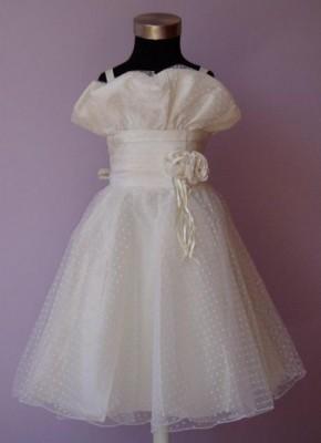 Vestido de Cerimónia para Menina Leque