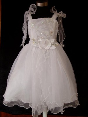 Vestido de Cerimónia para Menina Vaporoso