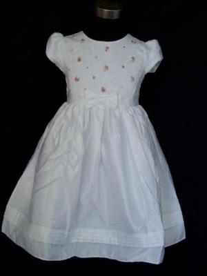 Vestido de menina Florzinhas