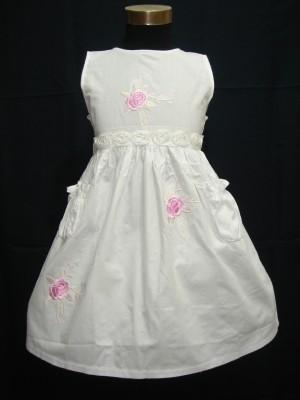 Vestido verão branco pure floral