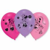 10 Balões Latex Minnie Bow-tique