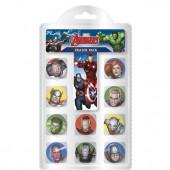 10 Borrachas Avengers Marvel