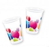 10 Copos Festa Balloon Party 40ml
