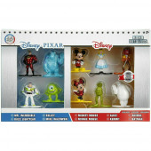 10 Figuras Nano Metalfigs Disney Pixar 4cm