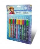10 lápis de cor Frozen