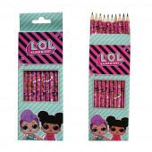 10 Lápis de cor LOL Surprise