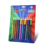 10 lápis de cor Pj Masks