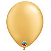 100 Balões Dourado Qualatex 5