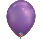100 Balões Roxo Chrome 11''