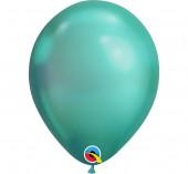 100 Balões Verde Chrome 11''