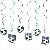 12 Espirais Decorativas Futebol