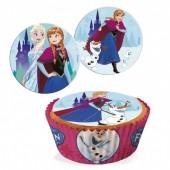 16 Discos Cupcake Disney Frozen