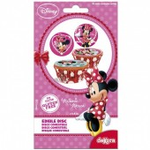 16 Discos Cupcake Minnie Mouse