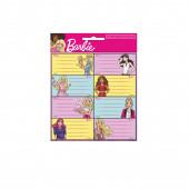 16 Etiquetas Autocolantes Barbie