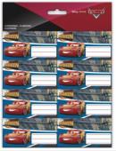 16 Etiquetas Autocolantes Cars