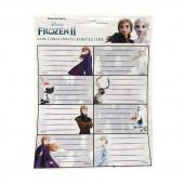 16 Etiquetas Autocolantes Frozen 2