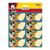 16 etiquetas autocolantes Mickey Disney - Club House