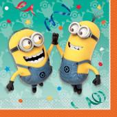 16 Guardanapos Minions Party