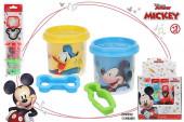 2 Plasticinas + 2 Moldes Mickey Sortido
