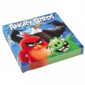 20 Guardanapos Angry Birds Movie