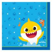 20 Guardanapos Baby Shark