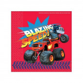 20 Guardanapos Blaze Monster Machines Speed