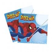 20 Guardanapos Festa Espectacular Spiderman