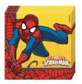 20 Guardanapos Festa Spiderman Thwip