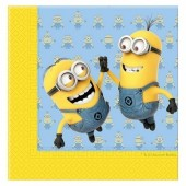 20 Guardanapos Lovely Minions 33cm