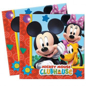 20 Guardanapos Mickey Mouse