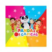 20 Guardanapos Panda e os Caricas