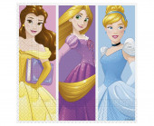 20 Guardanapos Princesas Day Dream Disney