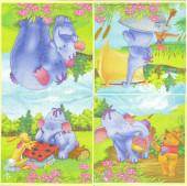 20 Guardanapos Winnie the Pooh Heffalump