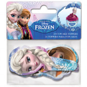 24 Toppers Cupcakes Frozen