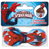 24 Toppers Cupcakes Spiderman