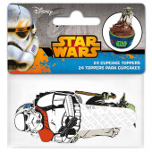 24 Toppers Cupcakes Star Wars