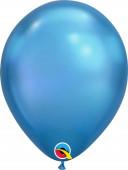 25 Balões Azul Chrome 11