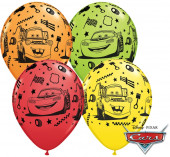 25 Balões Cars Sortidos 11
