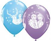 25 Balões Latex Frozen 2 Sortidos 11