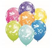 25 Balões Latex Sereias 11