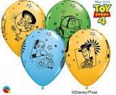 25 Balões Latex Toy Story 4 Sortidos 11