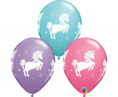 25 Balões Unicórnio Sortidos 11