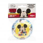 25 Cápsulas Cupcake Mickey