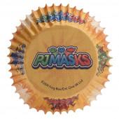 25 Cápsulas Cupcake PJ Masks