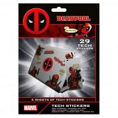 29 Autocolantes Deadpool em vinil