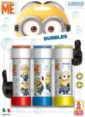 3 embalagens Bolas de Sabão Minions 60 ml