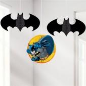 3 Espirais Decorativas Batman